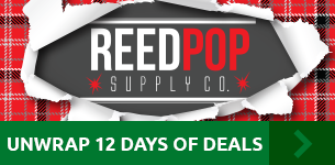 Unwrap 12 days of deals with ReedPOP Supply Co