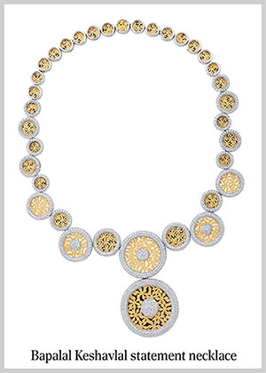 Bapalal Keshavlal Statement Necklace