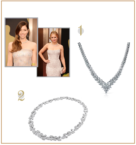 The diamond statement neck